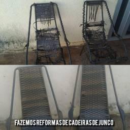 Reformas de cadeiras de junco