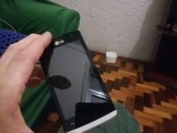 Smartphone LG com TV digital