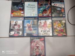 Lote jogos PS2 original