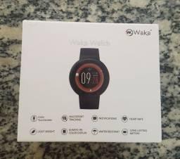 SmartWatch Waka Watch Wk03 À Prova D'água Preto<br><br>