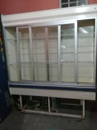 Expositor de frios para conservar frutas e verduras