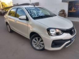 Etios sedan x plus 1.5 automático 2018/2019