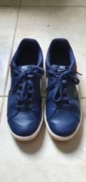 Tênis Nike Court Royale Masc. Azul Tam 41