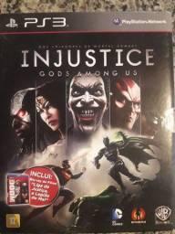 Vendo Jogo PlayStation 3 + Filme Blu-ray Liga da Justiça
