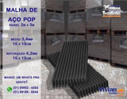 Malha De Aço Pop | Painel 2m x 3m