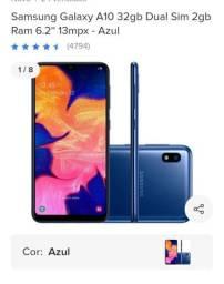 Celular A10 da Samsung