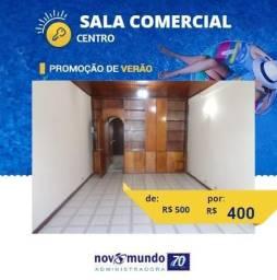 Título do anúncio: Sala - CENTRO - R$ 400,00