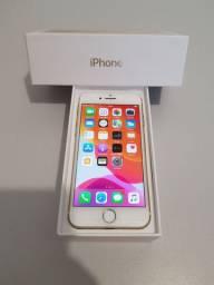 iphone 7 32gb Gold aceito troca por celular inferior e volta em dinheiro