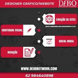 Designer Gráfico e criação de sites
