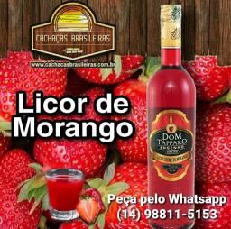 Licor Creme de Morango Dom Tápparo 750ml<br><br>