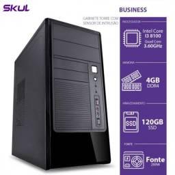 Computador I3 8100 3.6ghz, 4gb Ddr4, Ssd 120gb
