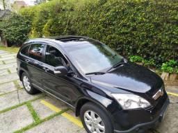 CRV ELX 4WD 2008 PRETO COM TETO SOLAR (Particular)