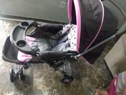 Carrinho com bebê conforto travel System