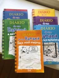 Coleção livros Diário de um Banana