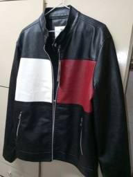 Jaqueta de couro masculino.