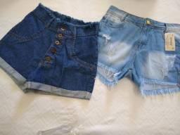 Short jeans.