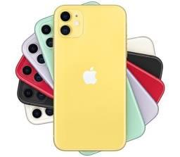 IPhone 11 64gb amarelo, ANATEL! Novo! Lacrado na Caixa! Em até 12x com taxas