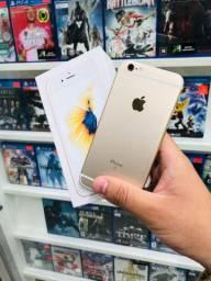 iPhone 6s Gold na caixa// impecável