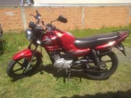 YBR 125 vendo ou dou de entrada em moto maior