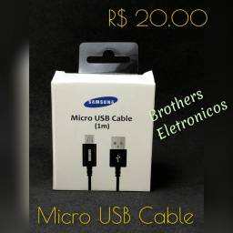 Cabo Micro USB 1 metro. Samsung.