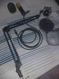 Microfone BM800 c/ acessórios