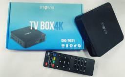 Tv Box 4k - Pronta entrega e parcelo no cartão