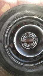 Step pneu com roda meia vida !