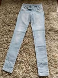 Lote de calça jeans