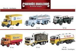 Caminhões brasileiros coleção