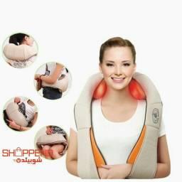 Colete Massageador com Aquecimento terapêutico Shiatsu para Pescoço, Ombro e muito mais.