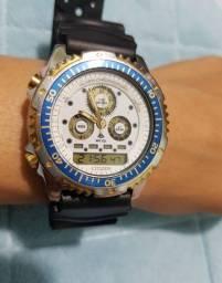 Relógio Citizen combo c110  raro