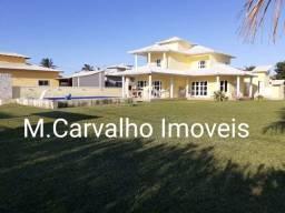 Casa Alto Padrão no Residencial Verão Vermelho / 04 Quartos-Piscina-Edícula / Cabo Frio