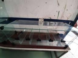 Baleiro/bomboniere de vidro