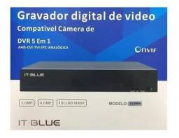 Dvr 4 canais It Blue  Sc9504 Full Hd 1080p