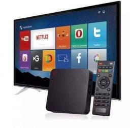 MXQ PRO 4k - Tv box 4 GB já configurada