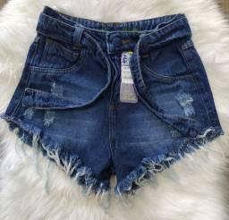 Short jeans feminino hot pants