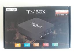 Tv Box MXq Pro 4Gb 64Gb + Brinde