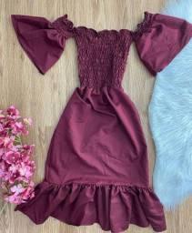 Vestido longo luxo R$75