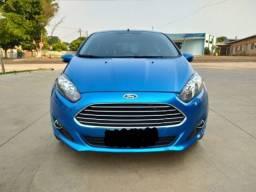New Fiesta SE 1.6 azul Califórnia ano 2014 - Impecável- troco por civic si