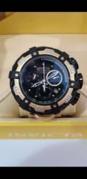 Relógio Invicta ThunderBolt Dourado a prova d'água Completo