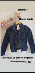 Nunca usada ! Jaqueta jeans G2K