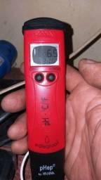 Vendo medidor impermeável de ph é temperatura automatico
