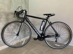 Bicicleta Speed Endorphine Gonew Fast 10 Shimano Alumínio - Aro 700 - Preto