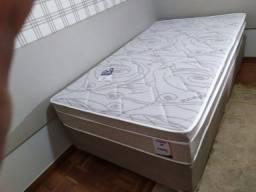 Cama Box + Colchao Solteirao Prime 108x188 A Pronta Entrega