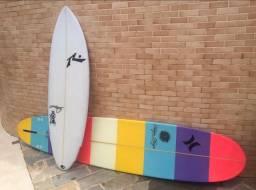 Prancha de surf rusty dwart e acessórios
