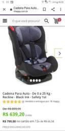 Cadeirinha de bebê safety 1st