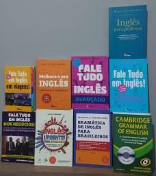 Livros para estudo de inglês!!