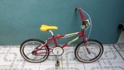 Bicicleta Caloi Cross Pro Neon aro 20