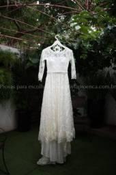 Vestido de noiva off white