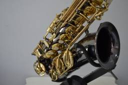 Sax Alto Eagle Black+Boquilha Ricco B5 + Case Yamaha {[( Made In Indonésia )]}